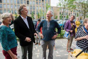 Bert Koenders, minister BuZa, bij de Coppernickel in Den Bosch